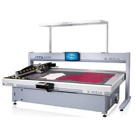 IC400A 智能振动刀皮革切割机(单头)|电脑皮革切割机|电脑数控机