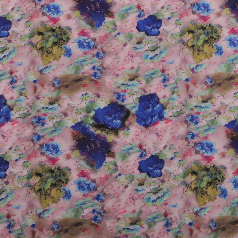 QX17012 潜水针织丨超纤皮革丨印花面料