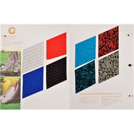 QX18264 帆布提花织物 | 印花面料  | 布料