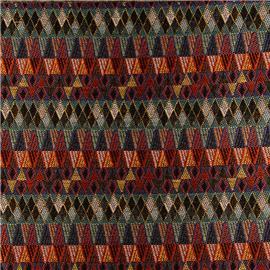 QX18047 帆布提花织物 | 编织面料 | 布料
