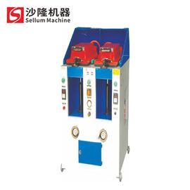 压底机 SL-822(XQYH-2005B-2)双工位气动盖式压合机 沙隆机械