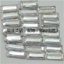 长条异形烫钻 韩国烫钻 星缘烫钻 厂家直销  质优价实 可来样来图加工定做