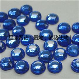 蔚蓝色韩国烫钻 韩国烫钻 星缘烫钻 厂家直销  质优价实 可来样来图加工定做