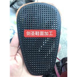 鞋面热压冲孔