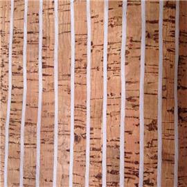 LDF10 特色软木X系列 现货供应花卉合成革 软木花卉革 真木皮橡树皮 鞋材箱包工艺品