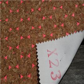 LDFX23软木厂家长期供应软木鞋材,软木片,软木革,花卉合成革,软木家装,软木手机壳,软木墙纸,软木合成革,软木工艺品加工