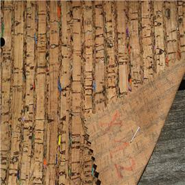 LDF42现货供应软木鞋材,软木片,软木革,花卉合成革,软木工艺品,软木家装,软木手机壳,软木墙纸,软木合成革 鞋材工艺品材料