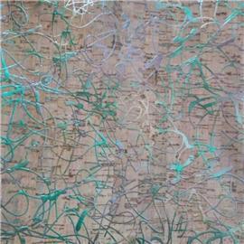 LDF03 新品镭射系列 现货供应软木片 软木工艺品 软木家装 软木墙纸 自然特色 环保软木材料