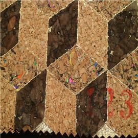 LDF工厂直销软木鞋材,软木片,软木革,花卉合成革,软木工艺品,软木家装,软木手机壳,软木墙纸 天然鞋材工艺品材料