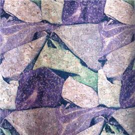 LDF01 花样年华系列 现货供应软木革 花卉合成革 软木工艺品 鞋材工艺品材料