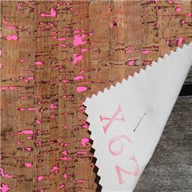 LDFX62工厂直销软木鞋材,软木片,软木革,花卉合成革,软木工艺品,软木家装,软木手机壳,软木墙纸 天然鞋材工艺品材料