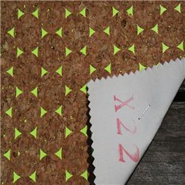LDFX22厂家直销环保无毒软木鞋材,软木片,软木革,花卉合成革,软木工艺品,软木家装,软木手机壳,软木墙纸,软木合成革 天然轻质无毒