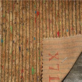 LDFX71工厂直销软木鞋材,软木片,软木革,花卉合成革,软木工艺品,软木家装,软木手机壳,软木墙纸,软木合成革各类软木片材 量大从优