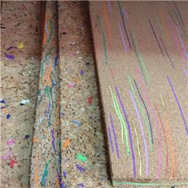 LDF01 软木板系列 现货供应花卉合成革|软木工艺品|软木家装|软木手机壳|软木墙纸 天然环保高品质原材料