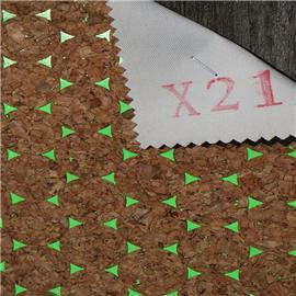 LDFX21现货供应软木鞋材,软木片,软木革,花卉合成革,软木工艺品,软木家装,软木手机壳,软木墙纸,软木合成革 鞋材工艺品材料