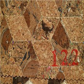 LDF122现货供应软木鞋材,软木片,软木革,花卉合成革,软木工艺品,软木家装,软木手机壳,软木墙纸,软木合成革 鞋材工艺品材料