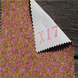 LDFX17厂家大量批发各类软木鞋材,软木片,软木革,花卉合成革,软木工艺品,软木家装,软木手机壳,软木墙纸,软木合成革 片材 卷材 天然无毒工