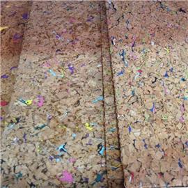 LDF03 软木板系列 现货供应花卉合成革|软木工艺品|软木家装|软木手机壳|软木墙纸 天然环保高品质原材料