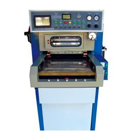 Automatic high frequency synchronization and fusing machine