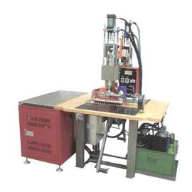 T型双头高周波塑胶熔接机/汽油压式