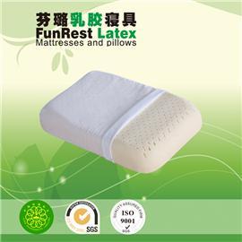 健康运动枕 泰国乳胶枕头 进口纯天然正品 护颈枕保健枕 颈椎枕头枕芯