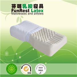 护颈按摩枕  泰国乳胶枕头 进口纯天然正品 护颈枕保健枕 颈椎枕头枕芯