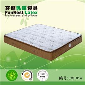 静夜思 独立袋弹簧 席梦思床垫  天然乳胶床垫 厂家直销图片