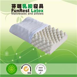 深度按摩枕  泰国乳胶枕头  进口纯天然正品   护颈枕保健枕   颈椎枕头枕芯