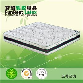 至尊经典 独立袋弹簧 席梦思床垫  天然乳胶床垫 厂家直销