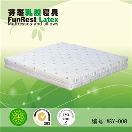 眠思语 独立袋弹簧 席梦思床垫  天然乳胶床垫 厂家直销