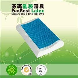 凝胶安眠枕  泰国乳胶枕头  进口纯天然正品   护颈枕保健枕   颈椎枕头枕芯