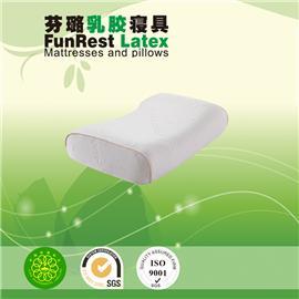 女士美容枕  泰国乳胶枕头  进口纯天然正品   护颈枕保健枕   颈椎枕头枕芯