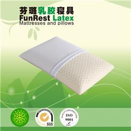 时尚助眠枕  泰国乳胶枕头  进口纯天然正品   护颈枕保健枕   颈椎枕头枕芯