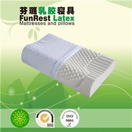 健椎按摩枕  泰国乳胶枕头 进口纯天然正品 护颈枕保健枕 颈椎枕头枕芯