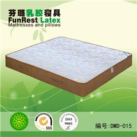 朵密达 独立袋弹簧 席梦思床垫  天然乳胶床垫 厂家直销图片
