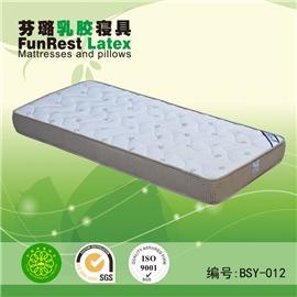 倍舒雅 独立袋弹簧 席梦思床垫  天然乳胶床垫 厂家直销图片