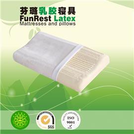 舒压护颈枕  泰国乳胶枕头 进口纯天然正品 护颈枕保健枕 颈椎枕头枕芯