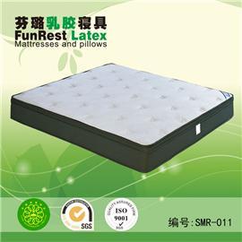 睡美人 独立袋弹簧 席梦思床垫  天然乳胶床垫 厂家直销