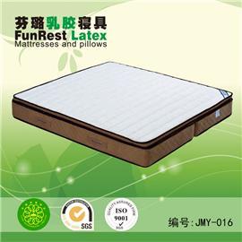 倍美雅 独立袋弹簧 席梦思床垫  天然乳胶床垫 厂家直销图片