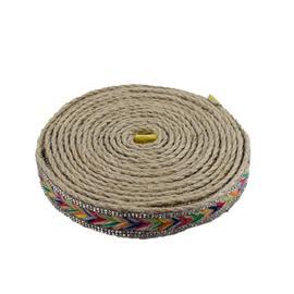 三色带编织 |新天鞋材编织