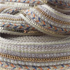 珠子編織帶 |新天鞋材編織