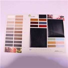 pu面料82014中跟真皮环保皮革皮革抗刮耐磨透气皮革人造pu皮革