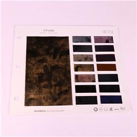 PU mirror CP1820 pure color Napa PVC leather