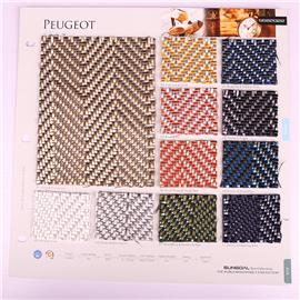 Pu Fabric Factory Direct Sales PU Leather Fabric Pure Color Leather Pull Bottom