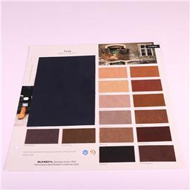 PU布料TA1812直销皮革面料软硬包沙发布料猪皮细纹加厚人造革床头PU皮