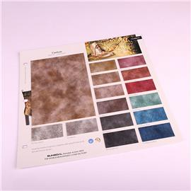 PU布料TA1824皮革面料箱包人造革软包硬包装饰皮料沙发鞋材布料