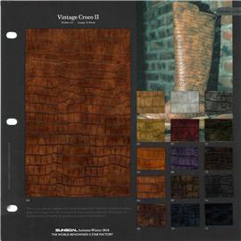 盛国 2016时尚新品 SG16-156 Vintage Croco II皮革 无毒环保 品质保证