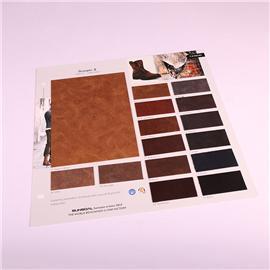 PU布料TA1806pu面料超透软面半PU皮革沙发鞋材钱包手袋箱包面料