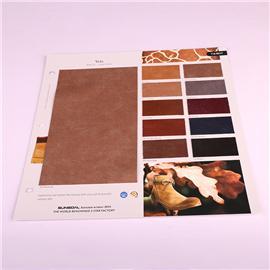 PU布料TA1816粗布底面料包装箱包人造革软包装饰皮料 现货批发