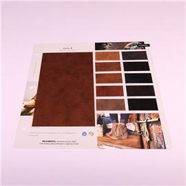PU布料TA1805新款皮革面料各种高仿真超纤布底PU革 大量现货